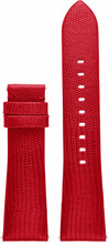 Michael Kors 22mm Lederen Horlogeband Rood