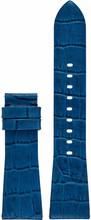 Michael Kors 22mm Lederen Horlogeband Blauw