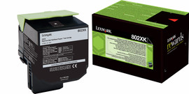 Lexmark 802XK Zwart (80C2XK0)