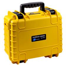 B&W type 3000 geel met plukschuim