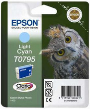 Epson T0795 Ink Cartridge Light Cyan (licht blauw)