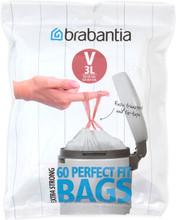 Brabantia Perfectfit Code V - 3 Liter DP (60 stuks)