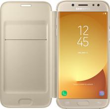 Samsung J5 (2017) Wallet Book Case Goud