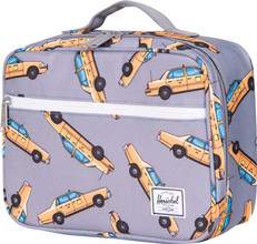 Herschel Pop Quiz Lunchbox Grey Taxi