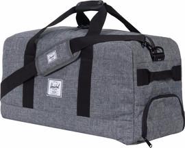 Herschel Outfitter Raven Crosshatch/Black Pebbled Leather