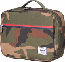 Herschel Pop Quiz Lunchbox Woodland Camo/Multi Zip