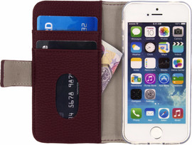 Mobilize SE Classic Gelly Wallet iPhone 5/5s/SE Book Case Ro