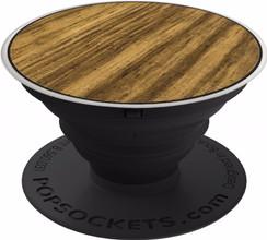 PopSockets Expanding Stand/Grip Aluminium Zebrawood