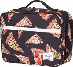 Herschel Pop Quiz Lunchbox Black Pizza