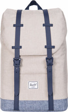 Herschel Retreat Youth LightKhaki Cross/Dark Chambr Cross