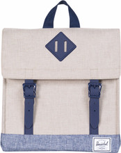 Herschel Survey Kids Light Khaki Cross/Dark Chambray Cross