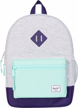 Herschel Heritage Youth LightGrey Cross/Lucite Green