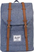 Herschel Retreat Dark Chambray Crosshatch/Tan Leather