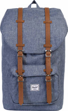 Herschel Little America Dark Chambray Crosshatch/Tan Leather
