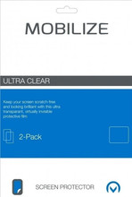 Mobilize 3 Max 5.5 inch Screenprotector Plastic Duo Pack