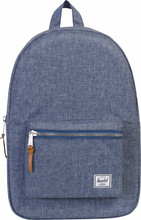 Herschel Settlement Dark Chambray Crosshatch