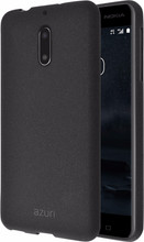 Azuri Flexible Sand Nokia 6/6 Arte Back Cover Zwart