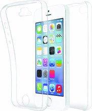 Azuri TPU Ultra Thin iPhone 5/5S/SE Full Body Transparant