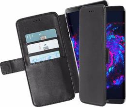 Azuri Wallet Magneet Galaxy S8 Book Case Zwart