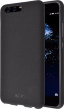 Azuri Flexible Sand Huawei P10 Plus Back Cover Zwart