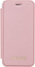 Guess Iridescent iPhone 6/6s/7/8 Book Case Rose Gold