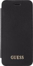 Guess Iridescent iPhone 6/6s/7/8 Book Case Zwart