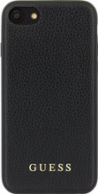 Guess Iridescent iPhone 6/6s/7/8 Back Cover Zwart