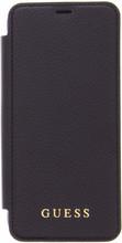Guess Iridescent Samsung Galaxy S8 Book Case Zwart