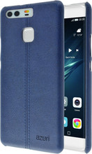 Azuri Stitch Huawei P9 Back Cover Blauw