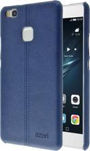 Azuri Stitch Huawei P9 Lite Back Cover Blauw
