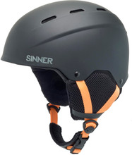 Sinner Poley Matte Black (53 - 54 cm)