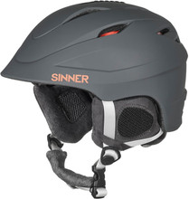 Sinner Gallix II Matte Dark Grey (57 - 58 cm)