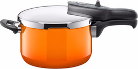 Silit Sicomatic T-Plus Snelkookpan Passion Orange 4,5 Liter