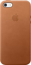 Apple iPhone 5/5S/SE Leather Case Bruin