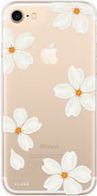 FLAVR iPlate White Petals iPhone 6/6S/7/8 Back Cover