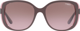 Vogue VO5155S Top Dark Violet / Pink Gradient Brown Lens