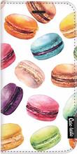 Casetastic Wallet iPhone 6/6s Book Case Macaron Mania Wit