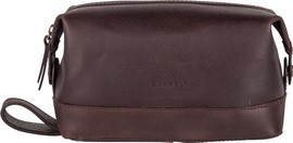 Burkely Vintage Riley Toiletry bag - Bruin