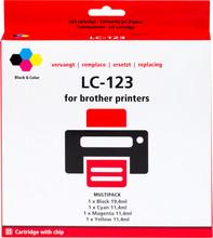Huismerk LC-123 4-Kleuren Pack