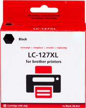 Huismerk LC-127XL Cartridge Zwart