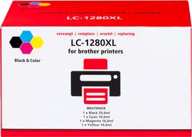Huismerk LC-1280XL 4-Kleuren Pack