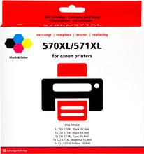 Huismerk Canon PGI-570/CLI-571 5-Kleuren (0372C004)