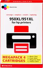 Huismerk 950/951 Cartridge 4-Kleuren XL (C2P43AE)