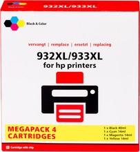 Huismerk 932/933 Cartridge 4-Kleuren XL (C2P42AE)
