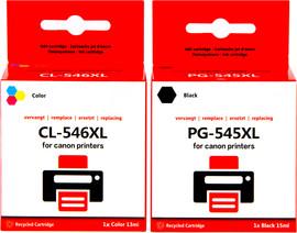Huismerk Canon PG-545/CL-546 Cartridge 4-Kleuren XL