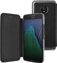 Azuri Booklet Moto G5 Plus Book Case Zwart