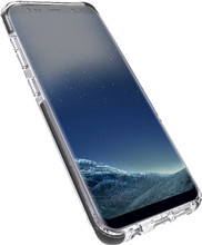 Azuri flexible bumper Galaxy S8 Plus Back Cover Zwart