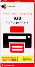 Huismerk 920 Cartridge 4-Kleuren XL (C2N92AE)