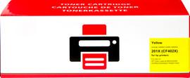 Huismerk HP 201X Toner Geel XL (CF402X)