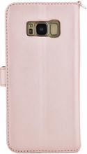 Valenta Premium Galaxy S8 Book Case Rose Gold